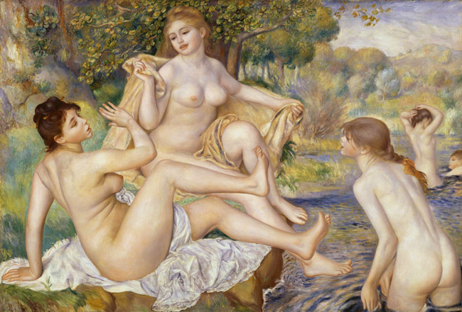 Les Grandes Naigneus, the Large bathers.jpg