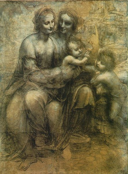 442px-Leonardo_-_St._Anne_cartoon.jpg